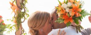 beach wedding koh phangan